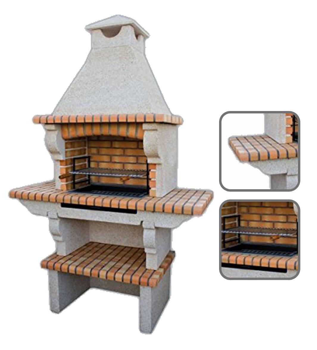 Los 4 modelos de barbacoas de obra m s vendidas - Barbacoa prefabricada precio ...
