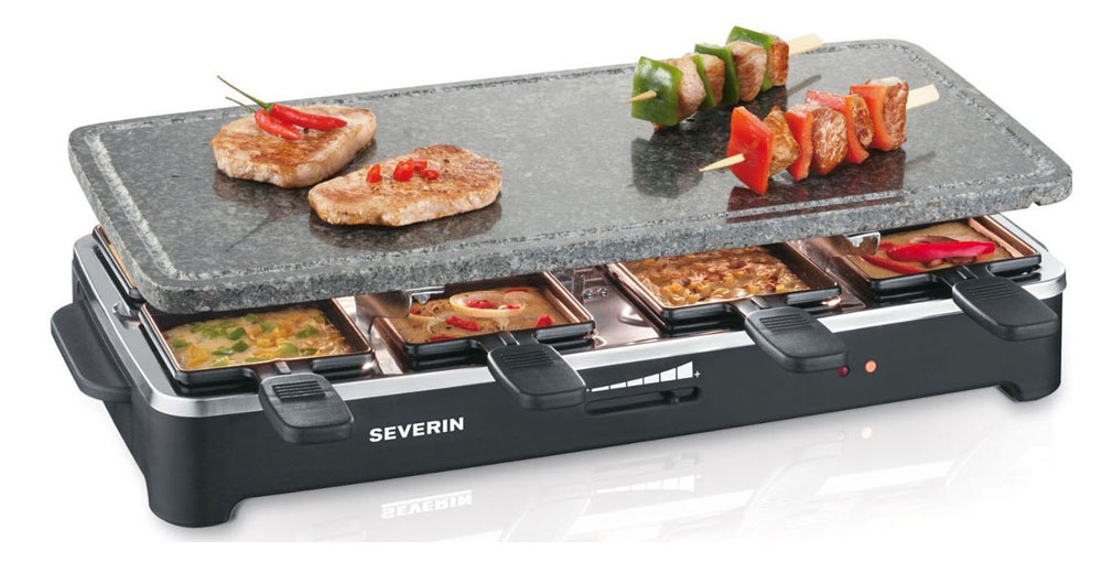 Severin RG 2343 para comparativa raclettes